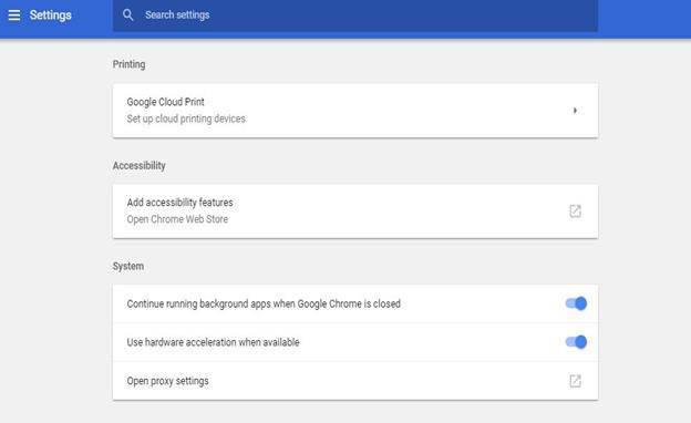 Google Cloud Printing