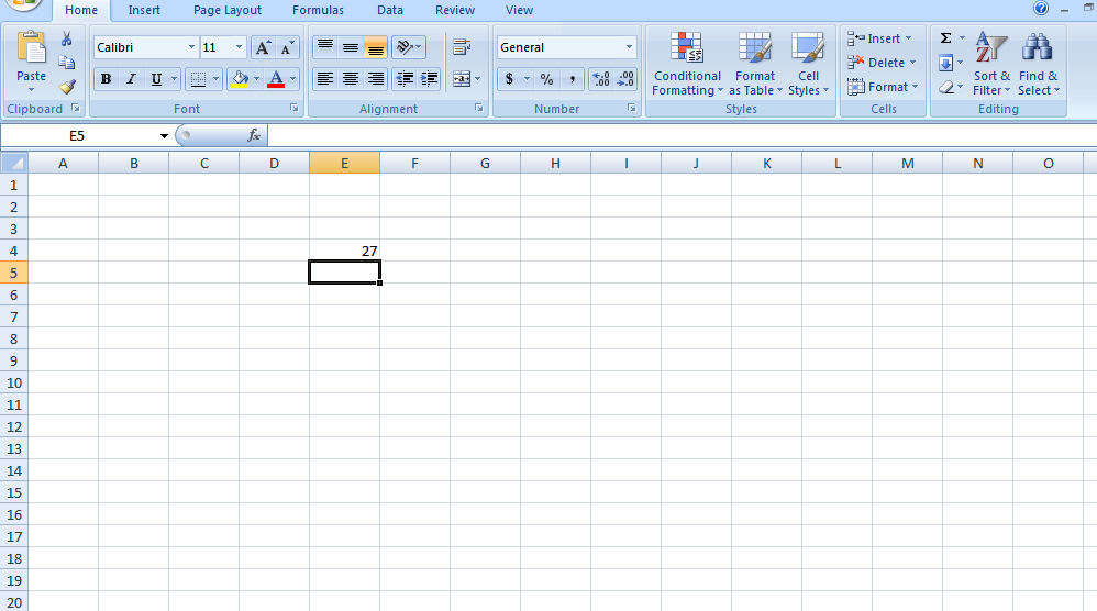 how to Divide Two Numbers in One Cell of Excel