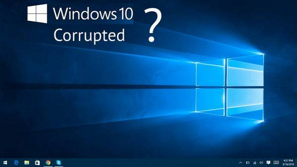 windows 10 system issue