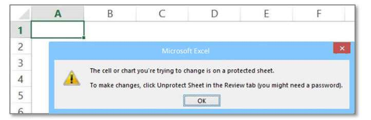 remove password from sheet