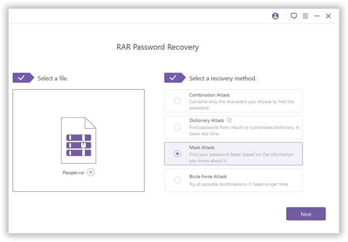 remove rar file password