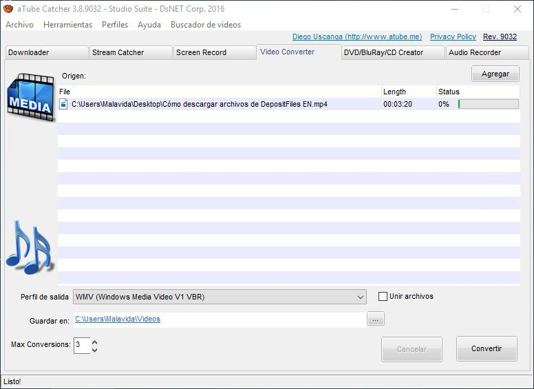 atube catcher youtube video downloader