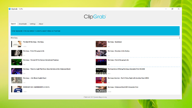 free youtube download -ClipGrab
