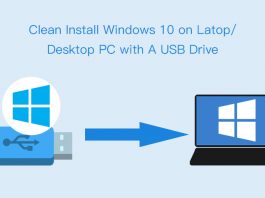 clean install Windows