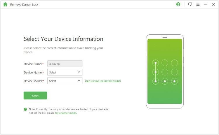 How to Unlock/Bypass Lock Screen Passcode on Samsung Galaxy