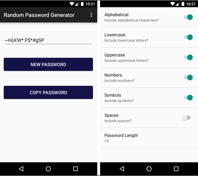 Best Password Generator Apps for Android