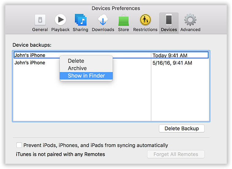 how to change location on iphone where is my iphone itunes backup stored on windows mac 18629