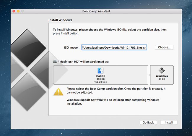 how to install windows on mac without bootcamp
