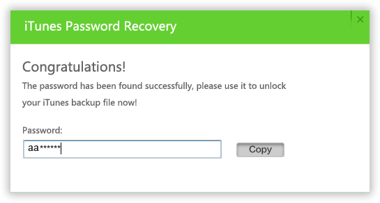 how to create a new encryp password on itunes