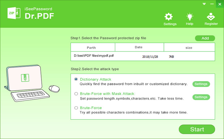 How to Break or Crack PDF Password Protected File