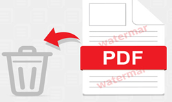 Remove Watermark from PDF File