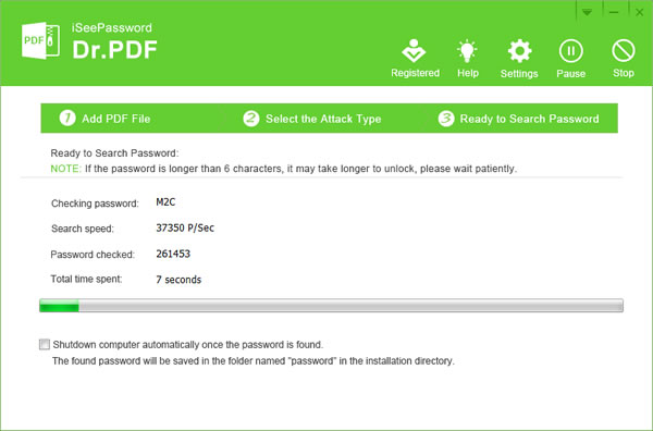 asunsoft pdf password refixer registration key