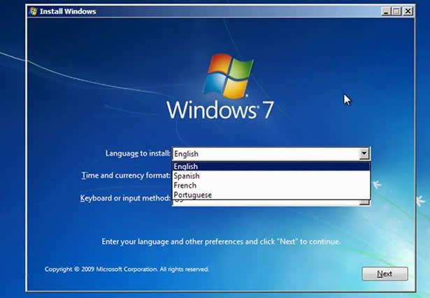 forgotten password windows 7 laptop
