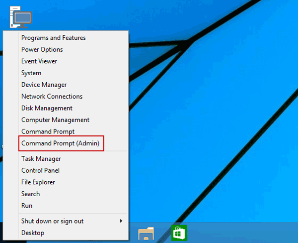 Enable and disable built in administrator account on windows 108817 enter command prompt admin ccuart Choice Image