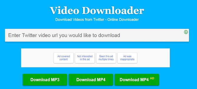 how to download video from twitter on phone