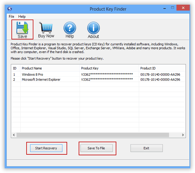 microsoft office product key finder tool