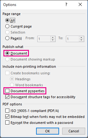 convert word to pdf file