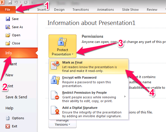 how to unlock a password protected powerpoint without password