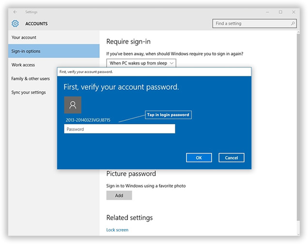 forgot windows 10 password local account but remember pin