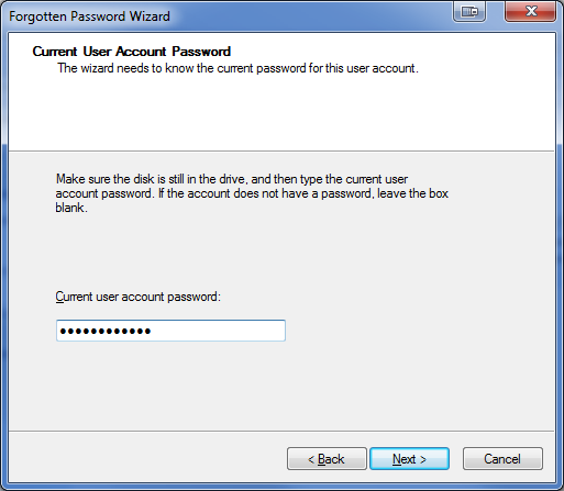 how to make a password recovery disk windows 7