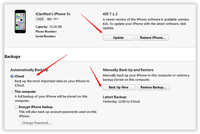 stop itunes from asking for icloud password