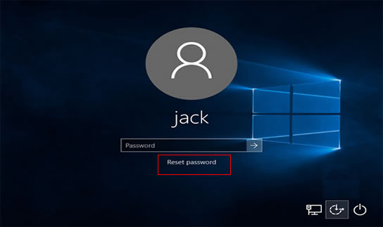 Reset Password With Disc