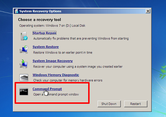 administrator password reset windows 7 freeware