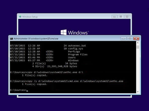 How to Reset Lost Windows 10/7 Password with Sticky Keys Method