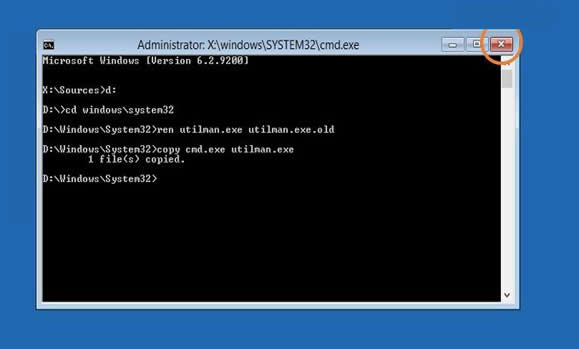 Solved]Reset Windows Server 2012 Local Administrator Password