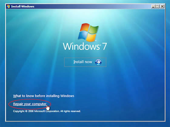 crack password windows 7 using cmd
