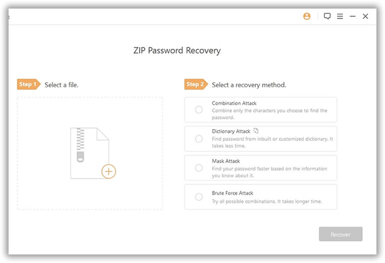 How to Unlock Zip File Password without Wiping Data